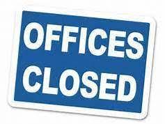 Parish offices closed July 26-30